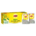 Ceai Lipton negru in plicuri Yellow Label 25x2g
