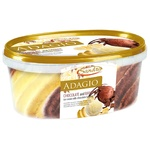 Мороженое Adagio Sandra шоколад/банан 550г