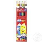 Creioane colorate Fatih 6 culori