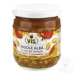 Фасоль белая Vis в томатном соусе 410г