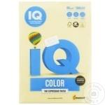 Hârtie colorată IQ crem 80g 500 foi