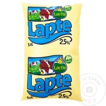 Lapte Lactis 2,5% 1l - cumpărați, prețuri pentru Metro - foto 1