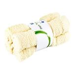 Набор полотенец ARO из 4 предметов 30x30см Ivory
