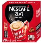 Кофе растворимый NESCAFE® 3 in 1 ORIGINAL 20x13г