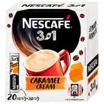 Cafea solubilă NESCAFE® 3in1 cu gust de caramela 20x13g