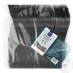 Вилки Metro Professional черные пластик 50шт