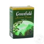 Ceai Greenfield verde cu jasmin infuzie 100g