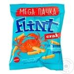 Сухарики Flint со вкусом краба 110г