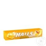 Драже Halls со вкусом лимона и меда 25г