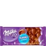 Ciocolata Milka lapte aerata 80g