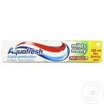 Pastă de dinți Aquafresh Mild/Mint 125ml