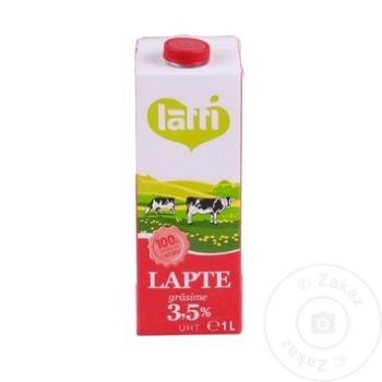Lapte UHT Latti 3,5% 1l - cumpărați, prețuri pentru Metro - foto 1