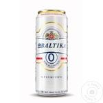 Bere blonda fara alcool Baltika doza 0,5l