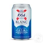 Пиво светлое Kronenbourg 1664 ж/б 0,33л