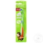 Periuță de dinți Splat Kids pentru copii 2-8 ani cu ioni de argint