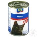 Hrana pentru pisici ARO vita 415g