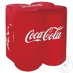 Напиток прохладительный газированный Coca Cola ж/б 4X0,33л