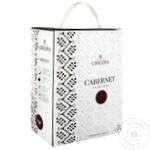 Vin Cricova National Cabernet-Sauvignon rosu sec bag in box 3l