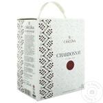 Vin Cricova National Chardonnay alb sec bag in box 3l