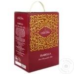 Vin Cricova Isabella roze demidulce bag in box 2l
