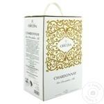 Vin Cricova Ornament Chardonnay alb demidulce bag in box 2l