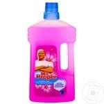 Средство Mr.Proper для мытья полов Flower&spring 1л