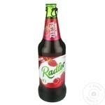 Безалкогольное пиво Chișinău Radler малина 0,45л