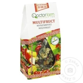 Ceai Doctor Farm din plante cu fructe infuzie 70g - cumpărați, prețuri pentru Metro - foto 1