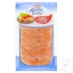 Семга Vici филе солёная нарезанная 150г
