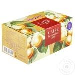 Caise în glazură de ciocolată albă Fruvit 200g