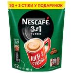 Кофе растворимый NESCAFE® 3 in 1 TURBO 53x13г
