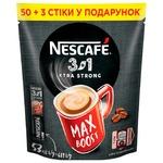 Cafea solubilă NESCAFE® 3 in 1 EXTRA STRONG 53x13g
