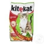 Корм сухой для кошек Kitekat мясо 1,9 кг