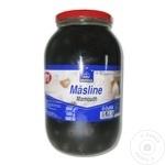 Măsline negre cu sâmbure Horeca Select Mamouth 3000g