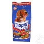 Корм сухой для собак Chappi говядина 15кг