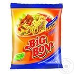 Лапша BigBon со вкусом говядины + соус 75г