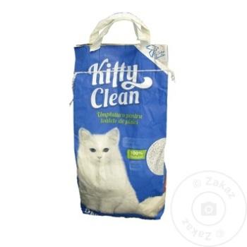 Umplutura pentru toalete de pisici Kitty Clean 5kg - cumpărați, prețuri pentru Metro - foto 1