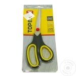 Ножницы Торех 220мм резиновые ручки
