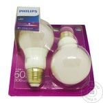 Philips LED 7.5W A60 42K 2buc
