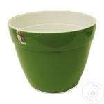 Вазон Asti зелено-белый 12л