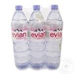 Apa minerala necarbogazoasa Evian PET 3x1,5l