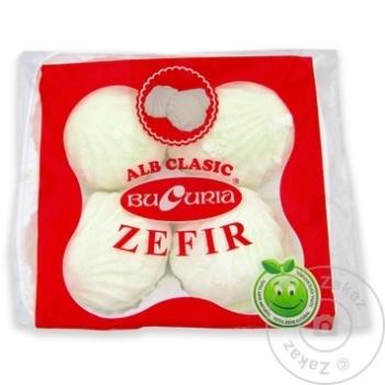 Zefir Bucuria alb clasic 200g - cumpărați, prețuri pentru Metro - foto 1