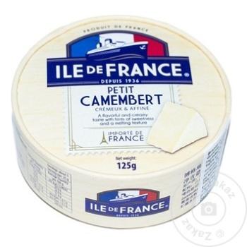 Cascaval Camembert Petit Ile de France 125g - cumpărați, prețuri pentru Metro - foto 1