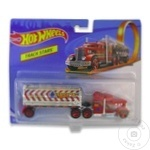 Camion cu remorca Hot Wheels in sortiment