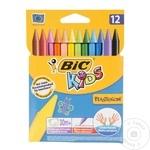 Bic creioane cerate plast P/12buc