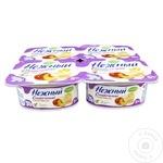 Produs de iaurt Campina Nejnii cu piersic 5% 4x100g