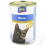 Hrana pentru pisici ARO pui 415g
