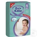 Подгузники Evy Baby 7-18кг Nr.4 64шт