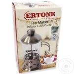 Пресс чайник Ertone 800мл