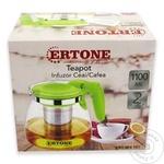 Стеклянный чайник Ertone 1,1л